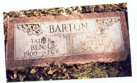 BARTON, BEN C. - Pottawattamie County, Iowa | BEN C. BARTON