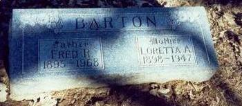 BARTON, FRED R - Pottawattamie County, Iowa | FRED R BARTON