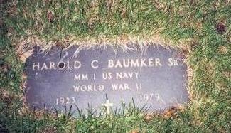 BAUMKER, HAROLD C. - Pottawattamie County, Iowa | HAROLD C. BAUMKER