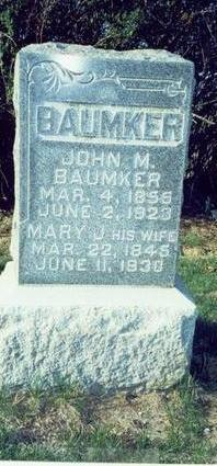 BAUMKER, MARY JANE - Pottawattamie County, Iowa | MARY JANE BAUMKER