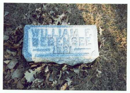 BEBENSEE, WILLIAM F. - Pottawattamie County, Iowa | WILLIAM F. BEBENSEE