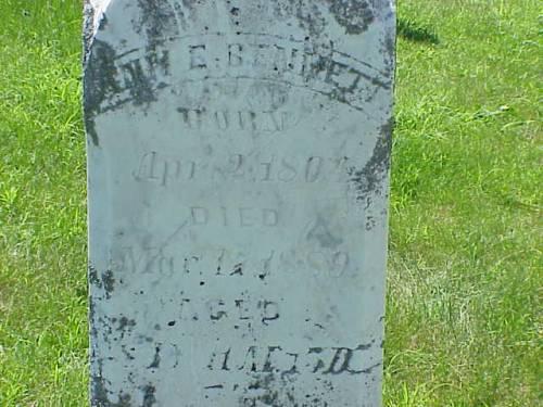 BENNETT, ANN E. - Pottawattamie County, Iowa | ANN E. BENNETT