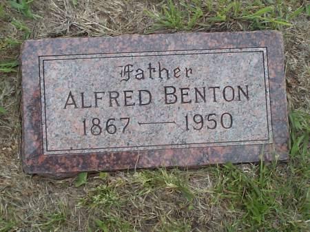 BENTON, ALFRED - Pottawattamie County, Iowa | ALFRED BENTON