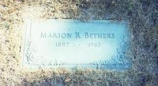 BETHERS, MARION R. - Pottawattamie County, Iowa | MARION R. BETHERS