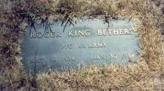 BETHERS, ROGER KING - Pottawattamie County, Iowa | ROGER KING BETHERS