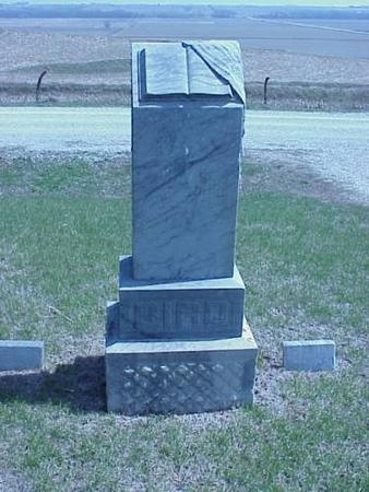 BIRD, HEADSTONE - Pottawattamie County, Iowa | HEADSTONE BIRD