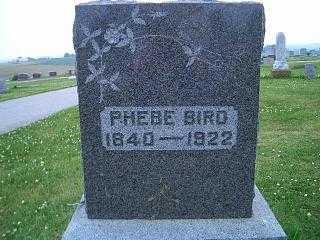 BIRD, PHEBE - Pottawattamie County, Iowa | PHEBE BIRD