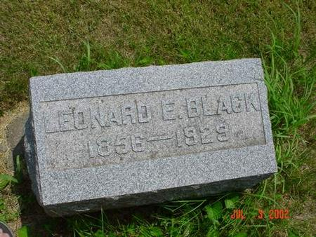 BLACK, LEONARD E. - Pottawattamie County, Iowa | LEONARD E. BLACK