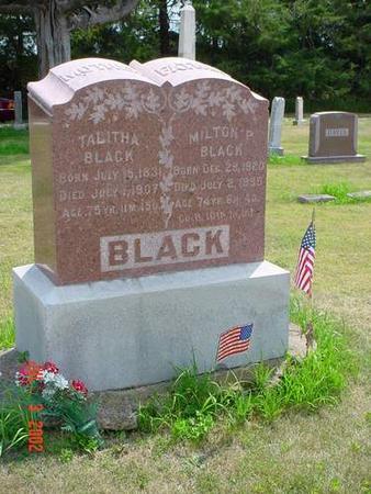 BLACK, MILTON P. - Pottawattamie County, Iowa | MILTON P. BLACK