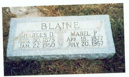 BLAINE, MABEL P. - Pottawattamie County, Iowa | MABEL P. BLAINE