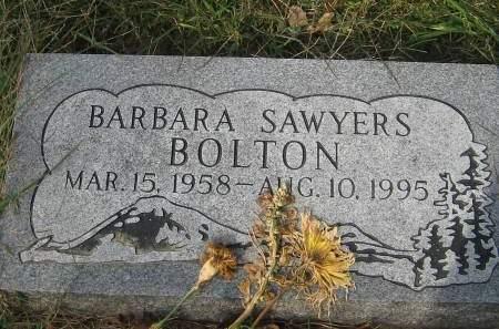 SAWYERS BOLTON, BARBARA - Pottawattamie County, Iowa | BARBARA SAWYERS BOLTON