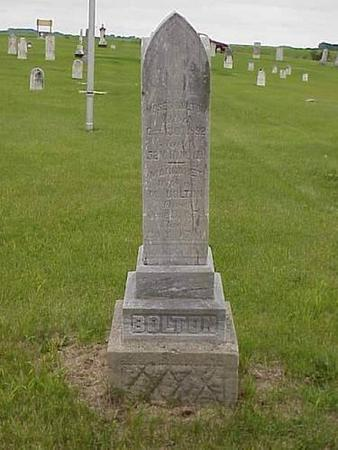 BOLTON, MOSES & MARGARET - Pottawattamie County, Iowa | MOSES & MARGARET BOLTON