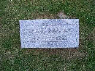 BRADLEY, CHAS F - Pottawattamie County, Iowa | CHAS F BRADLEY