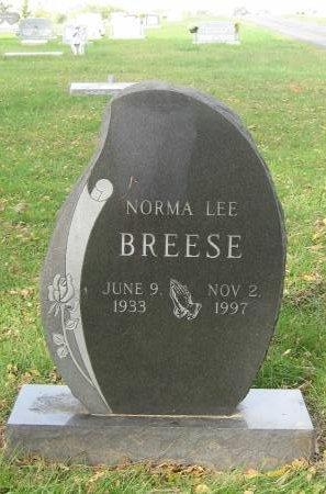 BREESE, NORMA LEE - Pottawattamie County, Iowa   NORMA LEE BREESE