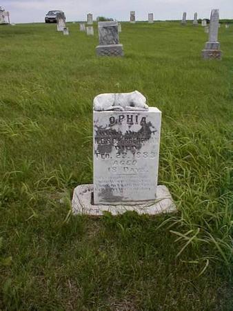 BRENEMAN, OPHIA - Pottawattamie County, Iowa | OPHIA BRENEMAN