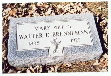 BRENNEMAN, MARY - Pottawattamie County, Iowa | MARY BRENNEMAN