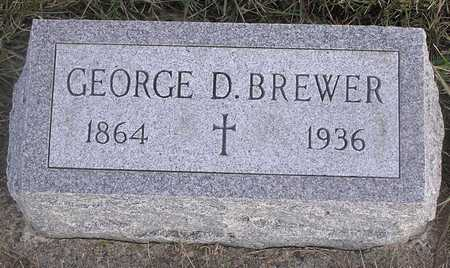 BREWER, GEORGE D - Pottawattamie County, Iowa | GEORGE D BREWER