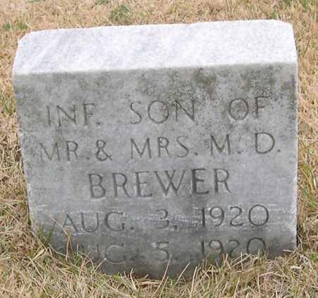 BREWER, INFANT SON - Pottawattamie County, Iowa   INFANT SON BREWER
