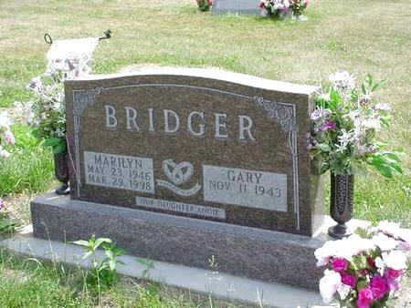 BRIDGER, MARILYN - Pottawattamie County, Iowa | MARILYN BRIDGER