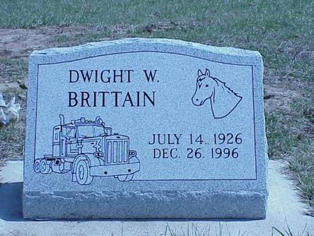 BRITTAIN, DWIGHT W. - Pottawattamie County, Iowa | DWIGHT W. BRITTAIN