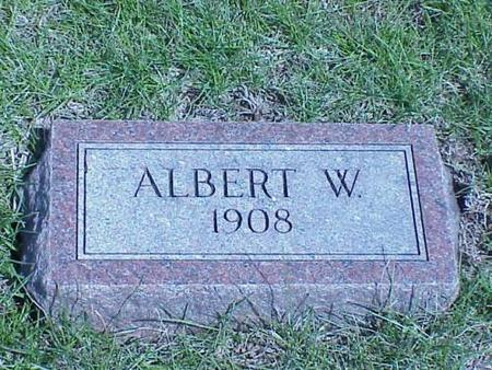BROCK, ALBERT W. - Pottawattamie County, Iowa | ALBERT W. BROCK
