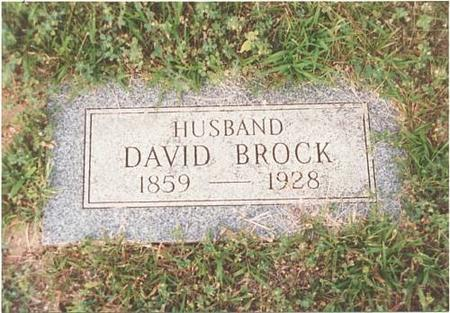 BROCK, DAVID - Pottawattamie County, Iowa | DAVID BROCK