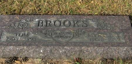 BROOKS, MYRTLE - Pottawattamie County, Iowa | MYRTLE BROOKS