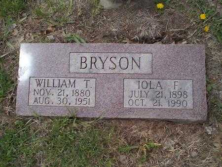 BRYSON, WILLIAM T. - Pottawattamie County, Iowa | WILLIAM T. BRYSON