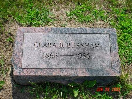 BURNHAM, CLARA B. - Pottawattamie County, Iowa | CLARA B. BURNHAM