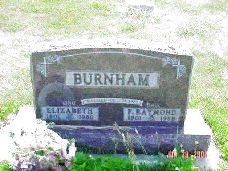 BURNHAM, F. RAYMOND - Pottawattamie County, Iowa | F. RAYMOND BURNHAM