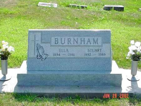 BURNHAM, ELLA - Pottawattamie County, Iowa | ELLA BURNHAM
