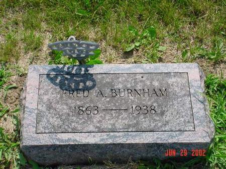 BURNHAM, FRED A. - Pottawattamie County, Iowa   FRED A. BURNHAM