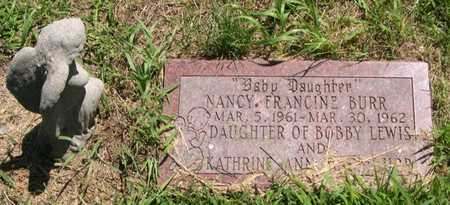 BURR, NANCY FRANCINE - Pottawattamie County, Iowa | NANCY FRANCINE BURR