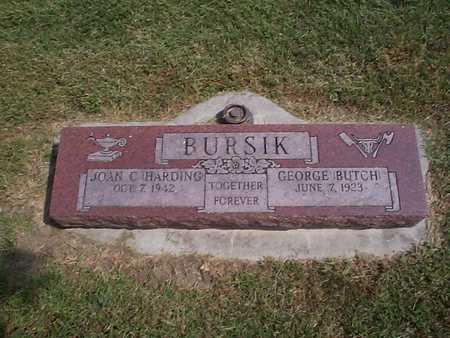 BURSIK, GEORGE BUTCH - Pottawattamie County, Iowa | GEORGE BUTCH BURSIK