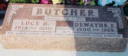 BUTCHER, LUCY - Pottawattamie County, Iowa | LUCY BUTCHER