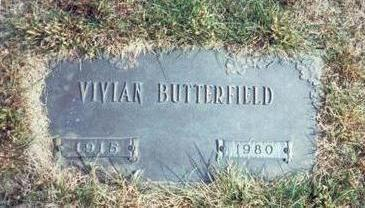 BUTTERFIELD, VIVIAN - Pottawattamie County, Iowa | VIVIAN BUTTERFIELD