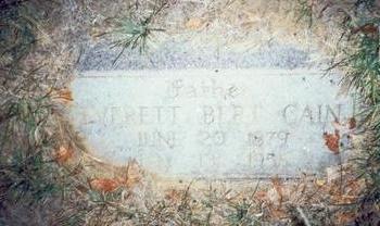 CAIN, EVERETT BERT - Pottawattamie County, Iowa | EVERETT BERT CAIN