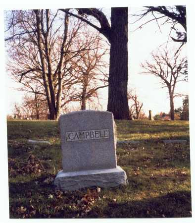 CAMPBELL, FAMILY MARKER - Pottawattamie County, Iowa | FAMILY MARKER CAMPBELL