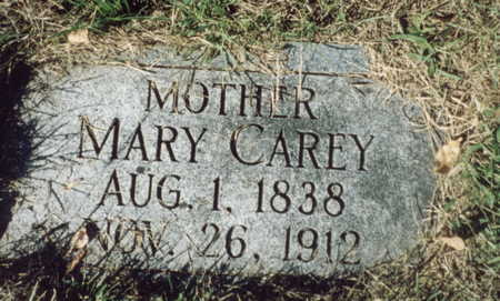 CAREY, MARY - Pottawattamie County, Iowa | MARY CAREY