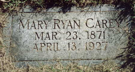 RYAN CAREY, MARY - Pottawattamie County, Iowa | MARY RYAN CAREY