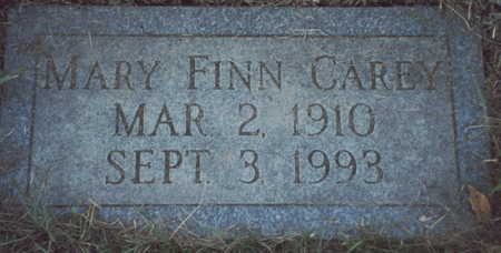 FINN CAREY, MARY - Pottawattamie County, Iowa | MARY FINN CAREY
