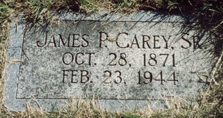 CAREY, SR., JAMES - Pottawattamie County, Iowa | JAMES CAREY, SR.