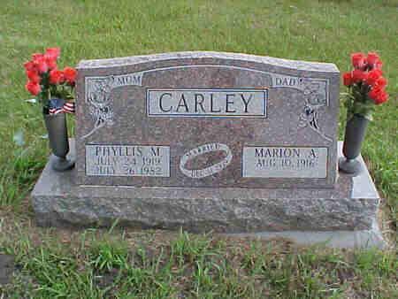 CARLEY, MARION - Pottawattamie County, Iowa | MARION CARLEY
