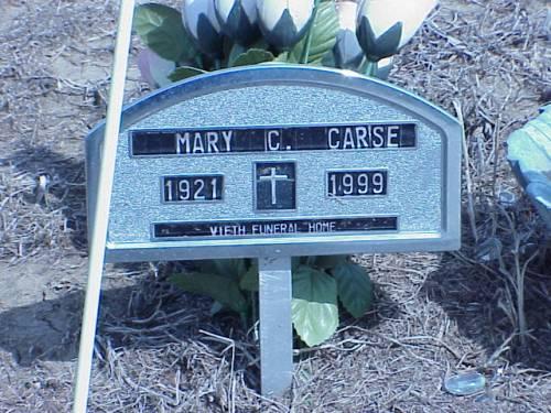 CARSE, MARY C. - Pottawattamie County, Iowa | MARY C. CARSE