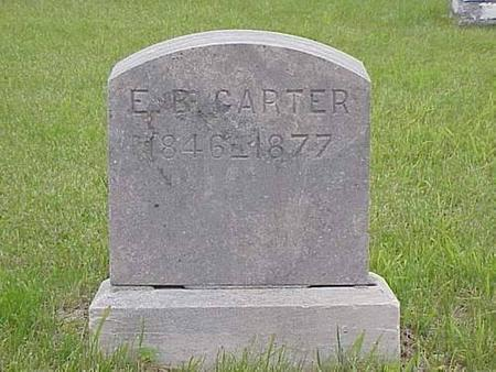 CARTER, E. B. - Pottawattamie County, Iowa | E. B. CARTER