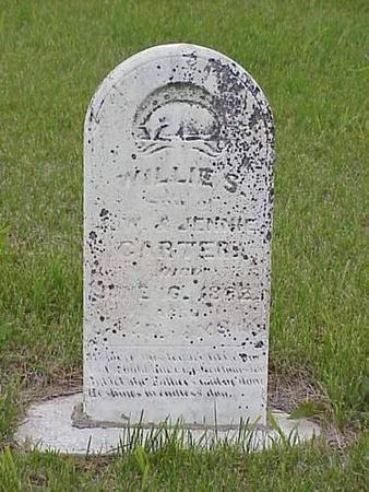 CARTER, WILLIE S. - Pottawattamie County, Iowa   WILLIE S. CARTER