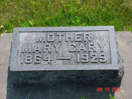 CARY, MARY - Pottawattamie County, Iowa | MARY CARY