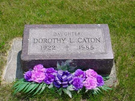 CATON, DOROTHY L. - Pottawattamie County, Iowa | DOROTHY L. CATON