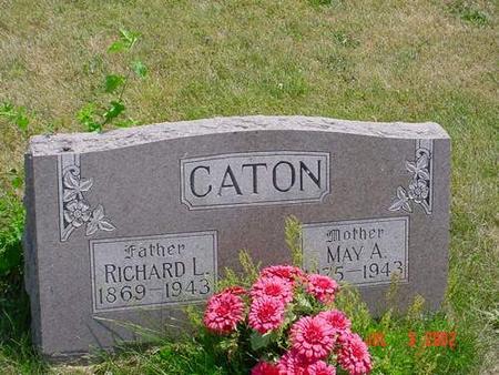 CATON, MAY A. - Pottawattamie County, Iowa | MAY A. CATON