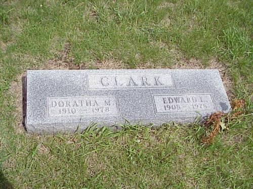 CLARK, DORATHA M. & EDWARD L. - Pottawattamie County, Iowa | DORATHA M. & EDWARD L. CLARK